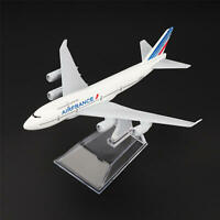 16cm Aircraft Plane Boeing 747 Air France Airlines Aircraft Diecast Model Toys