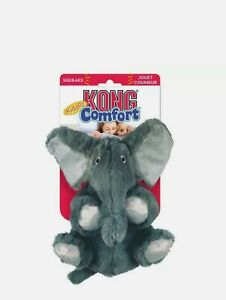 KONG Comfort Kiddos Dog Toy Cuddly Plush Comforter & Removable Squeaker or Treat