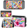 Nintendo Switch Console Joy-Con Skin Pokemon Kirby Vinyl Decals Stickers Wrap