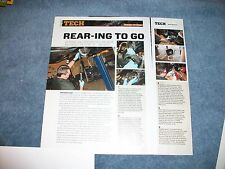 """GM Chevy 12-Bolt Rear End Rebuild Tech info Article """"Rear-ing to go"""""""