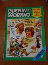 GUERIN SPORTIVO n.24-1975-CHINAGLIA POSTER COPERTINA-ALTAFINI-BOLOGNA-CATANZARO