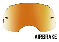 GOGGLE-SHOP FIRE MIRROR LENS to fit OAKLEY AIRBRAKE MOTOCROSS GOGGLES