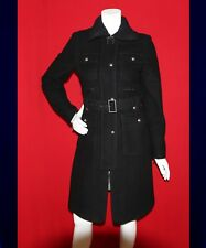 LAUNDRY Black Sea Women Belted Trench Coat