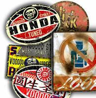 JDM, HONDA, KANJO, STICKER PACK BY VOODOO STREET™,waterproof vinyl, quality, NEW