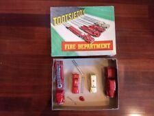 Circa 1953 Tootsietoy Fire Department Set 5211 with Original Box