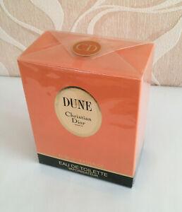90er Christian Dior Dune Parfum Eau De Toilette 100 ml Vintage 1991 NEU OVP.