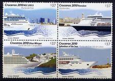URUGUAY 2010 Passagierschiffe Schiffe Ships Ocean Liner ** MNH
