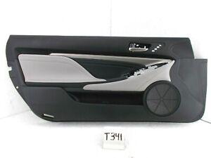 OEM DOOR TRIM PANEL LEFT DRIVER FRONT RC 350 300 200t 16-18 STERLING GRAY NICE
