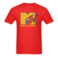 VTG MTV 1986 COKE Catch The Wave RED T-Shirt