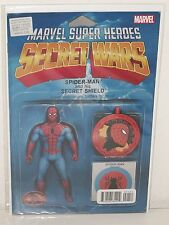 AMAZING SPIDER-MAN: RENEW YOUR VOWS #1 - Action Figure Variant - MARVEL Secret