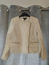 H&m Ladies Dressy Biker Style Jacket Size 12