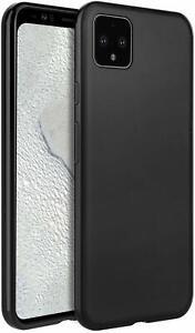 Slim TPU Case for Google Pixel 4 /4 XL, Matte Black Drop Protection