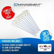 Evolis A5003 HeadClean Cleaning Kit for Primacy/Zenius • Free UK Delivery