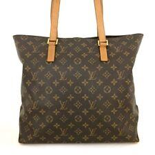 100% Authentic Louis Vuitton Monogram Cabas Mezzo Shoulder Tote Bag /40505