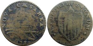1787 New Jersey Copper, Maris 29-L, RARITY-5 VARIETY, nice coin, sharp reverse!