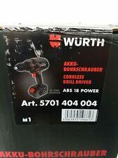 Würth AKKU-BOHRSCHRAUBER ABS 18 POWER M-CUBE