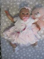 REAL REBORN DOLL BOUNTIFUL BABY GIRL IRELYN NOW VIOLET BY DAN AT SUNBEAMBABIES