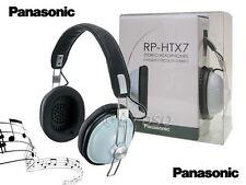 PANASONIC RP-HTX7 Cerchietto over-the-ear Retrò Monitor Cuffie Blu rp-htx7-a1
