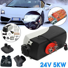5KW Diesel Air Heater 24V For Motorhome Trailer Trucks Boats Bus 5000W Warming