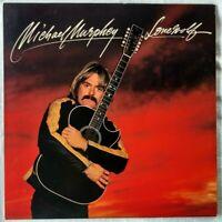 "MICHAEL MURPHEY ""Lonewolf"" PROMO COPY vinyl LP JE35013  VG++"