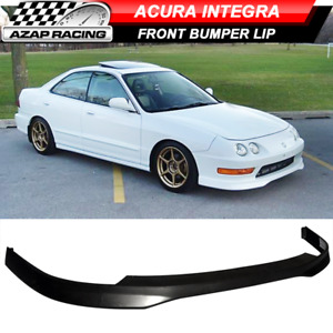 Fits 98-01 Acura Integra T-R Type Front Bumper Lip Spoiler Black - PP