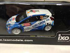 FORD FIESTA S2000 #32 BREEN MC 2012 (1ST SWRC) IXO RALLY 1:43 DIECAST- RAM502