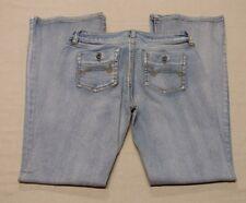Womens Ladies Juniors Duck Head Blue Jeans Denim Size 7 Average Stretchy EUC