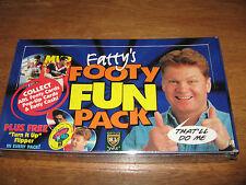 1997 Dynamic NRL ARL Fatty's Footy Show Fun Sealed Box Rare Fatty Vautin League