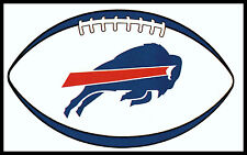 BUFFALO BILLS OVAL FOOTBALL NFL TEAM LOGO INDOOR STICKER FOR LAPTOP