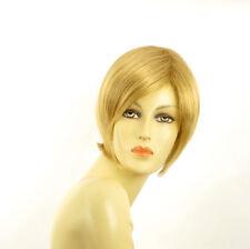 Perruque femme courte blond clair doré CECILIA LG26