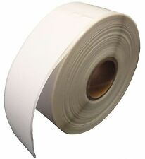 "12 Rolls... 30252 White Labels, 1-1/8""x3-1/2"" compatible with Dymo LabelWriter"