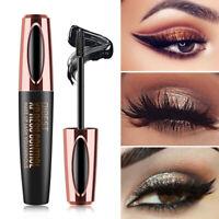QIBEST Waterproof 4D Makeup Eyelash Mascara Eyelash Silk Fiber Mascara K2Ps