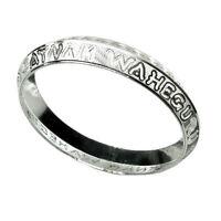 Custom Order - YOUR NAME - 925 Sterling Silver Men's Bangle Bracelet Sikh Kara