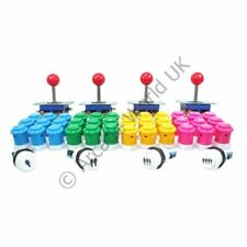 4 Player Arcade Joysticks & Buttons Kit No9
