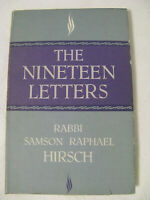 The Nineteen Letters Samson Raphael Hirsch Jewish Philosophy German System