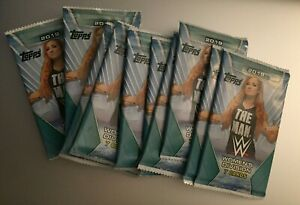 (10) 2019 TOPPS WWE WOMEN'S DIVISION Unopened Retail PACKS (From Box) .