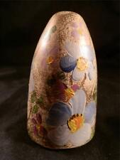 STUNNING VINTAGE DARNING EGG HAND PAINTED MADE IN CANADA FLOWER PATTERN