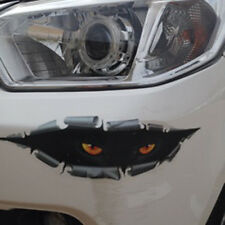 3D Monster Leopard Peeking Funny Car Van Rear Trunk Window Vinyl Sticker Decal