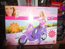 Barbie Scooter With Cell Phone And Glasses Mint In Box
