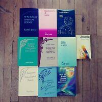 Rudolf Steiner - Occult/Esoteric -  Rare  10 Book Lot