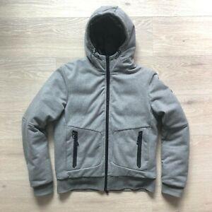 Ralph Lauren RLX Medium (M) Grey Zipped Down Lined Puffer Hoodie Jacket Coat Men