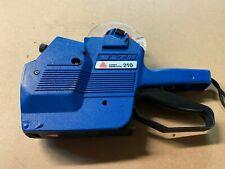 Sato Avery Dennison 210 Price Label Labeler Manual Retail Store Pricing Gun Blue