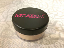Mica Beauty Mineral Makeup Foundation powder #MF-1 Porcelain Micabella 01/2021