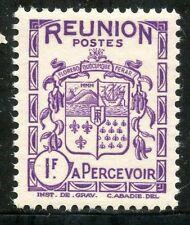 TIMBRES COLONIES FRANCAISES  / LA REUNION / BLASON / ARMOIRIE / TAXE N° 23 **