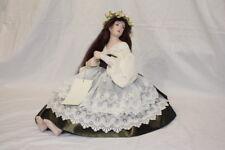 Gwendolyn by Monika, Limited Edition 30/35 Signed 1999 Porcelain Soft Body COA