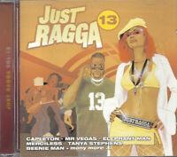 Music CD Reggae Dancehall Just Ragga Volume 13 Various Artists Sealed Album