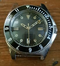 VINTAGE RARE BENRUS MILITARY TYPE 1 CLASS A, MIL-W-50717, DIVERS