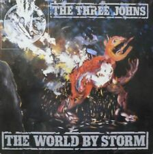 "The world by storm LP + 7"" (UK 1986): THE THREE JOHNS"