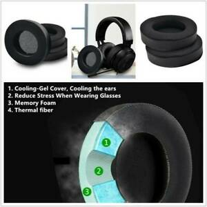1Pair Cooling Gel Headphones Ear Pads Cushion for Razer Kraken Pro V2 7.1 Gaming