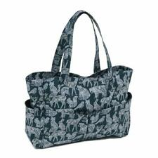 Hobbygift Punto Bolsa Artesanal - Nordic Azul Marino Diseño Almacenaje